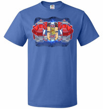 Load image into Gallery viewer, Red Ranger Unisex T-Shirt - Royal / S - T-Shirt