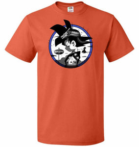 Saiyan Quest Unisex T-Shirt - Burnt Orange / S - T-Shirt