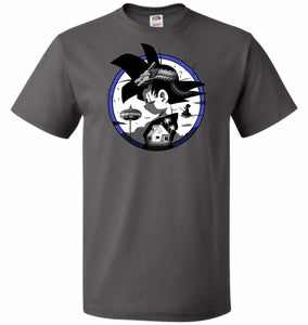 Saiyan Quest Unisex T-Shirt - Charcoal Grey / S - T-Shirt