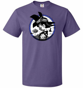 Saiyan Quest Unisex T-Shirt - Purple / S - T-Shirt