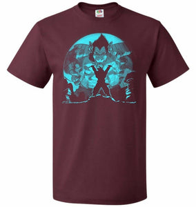 Saiyan Sized Secret Unisex T-Shirt - Maroon / S - T-Shirt