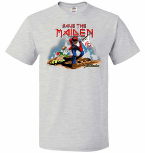 Save The Maiden Unisex T-Shirt - Ash / S - T-Shirt