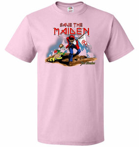 Save The Maiden Unisex T-Shirt - Classic Pink / S - T-Shirt