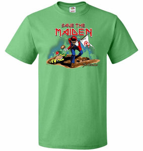 Save The Maiden Unisex T-Shirt - Kelly / S - T-Shirt
