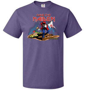 Save The Maiden Unisex T-Shirt - Purple / S - T-Shirt