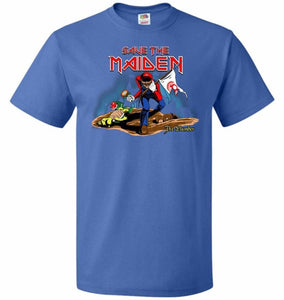Save The Maiden Unisex T-Shirt - Royal / S - T-Shirt