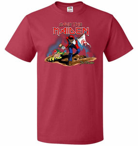 Save The Maiden Unisex T-Shirt - True Red / S - T-Shirt