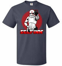 Load image into Gallery viewer, Selfinn Unisex T-Shirt - J Navy / S - T-Shirt