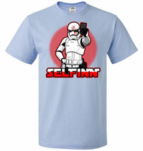 Load image into Gallery viewer, Selfinn Unisex T-Shirt - Light Blue / S - T-Shirt
