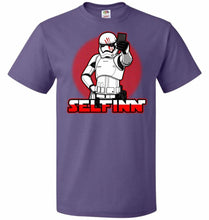 Load image into Gallery viewer, Selfinn Unisex T-Shirt - Purple / S - T-Shirt