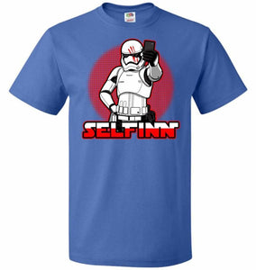 Selfinn Unisex T-Shirt - Royal / S - T-Shirt