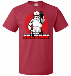 Selfinn Unisex T-Shirt - True Red / S - T-Shirt