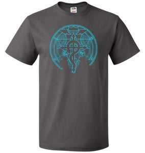 Shadow of Alchemist Unisex T-Shirt - Charcoal Grey / S - T-Shirt