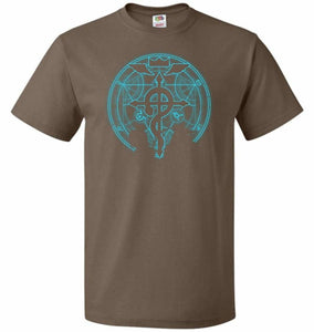 Shadow of Alchemist Unisex T-Shirt - Chocolate / S - T-Shirt