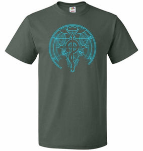 Shadow of Alchemist Unisex T-Shirt - Forest Green / S - T-Shirt