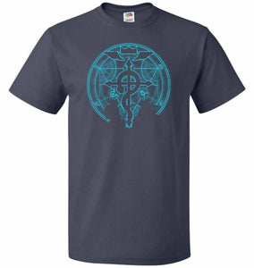Shadow of Alchemist Unisex T-Shirt - J Navy / S - T-Shirt