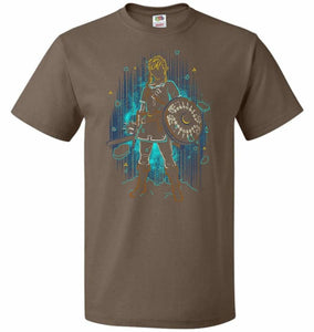 Shadow Of The Wild Unisex T-Shirt - Chocolate / S - T-Shirt