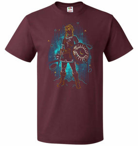 Shadow Of The Wild Unisex T-Shirt - Maroon / S - T-Shirt