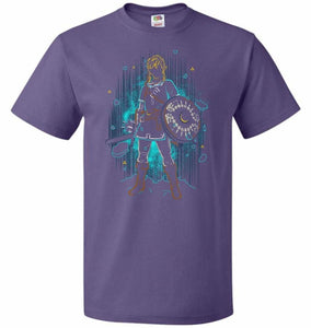 Shadow Of The Wild Unisex T-Shirt - Purple / S - T-Shirt