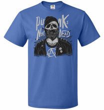 Load image into Gallery viewer, Skull Punk Unisex T-Shirt - Royal / S - T-Shirt