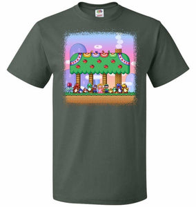 SMW Happy Ending Unisex T-Shirt - Forest Green / S - T-Shirt