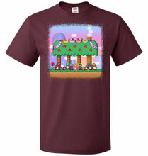 Load image into Gallery viewer, SMW Happy Ending Unisex T-Shirt - Maroon / S - T-Shirt