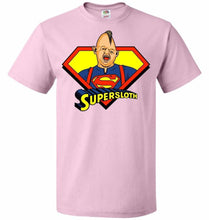 Load image into Gallery viewer, Supersloth Unisex T-Shirt - Classic Pink / S - T-Shirt