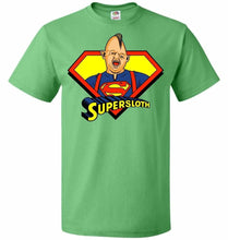 Load image into Gallery viewer, Supersloth Unisex T-Shirt - Kelly / S - T-Shirt