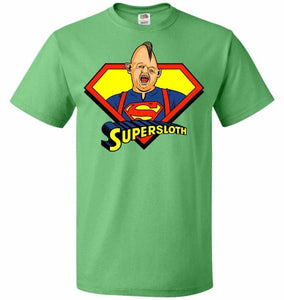 Supersloth Unisex T-Shirt - Kelly / S - T-Shirt