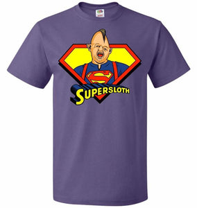 Supersloth Unisex T-Shirt - Purple / S - T-Shirt