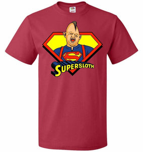 Supersloth Unisex T-Shirt - True Red / S - T-Shirt