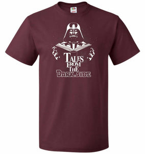 Tales From The Darkside Unisex T-Shirt - Maroon / S - T-Shirt