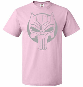 The Black Punisher Unisex T-Shirt - Classic Pink / S - T-Shirt