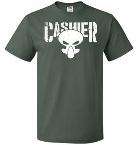 The Cashier Unisex T-Shirt - Forest Green / S - T-Shirt