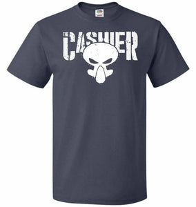 The Cashier Unisex T-Shirt - J Navy / S - T-Shirt