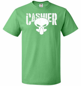 The Cashier Unisex T-Shirt - Kelly / S - T-Shirt