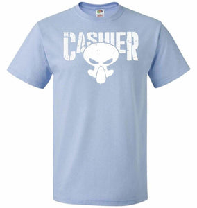 The Cashier Unisex T-Shirt - Light Blue / S - T-Shirt