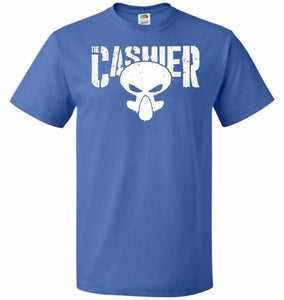 The Cashier Unisex T-Shirt - Royal / S - T-Shirt