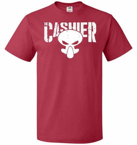 The Cashier Unisex T-Shirt - True Red / S - T-Shirt