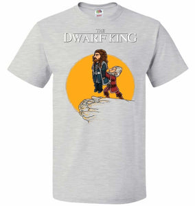 The Dwarf King Unisex T-Shirt - Ash / S - T-Shirt