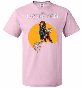 The Dwarf King Unisex T-Shirt - Classic Pink / S - T-Shirt
