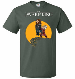 The Dwarf King Unisex T-Shirt - Forest Green / S - T-Shirt