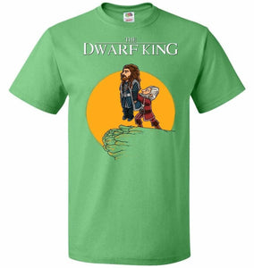 The Dwarf King Unisex T-Shirt - Kelly / S - T-Shirt