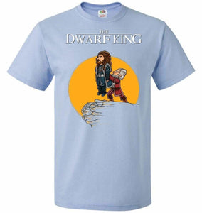 The Dwarf King Unisex T-Shirt - Light Blue / S - T-Shirt