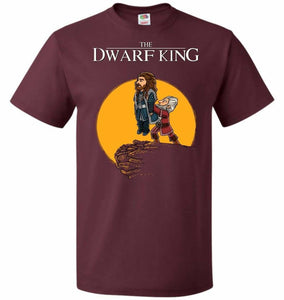 The Dwarf King Unisex T-Shirt - Maroon / S - T-Shirt