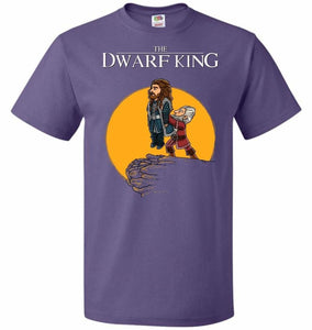 The Dwarf King Unisex T-Shirt - Purple / S - T-Shirt