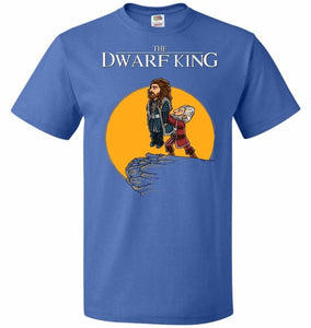 The Dwarf King Unisex T-Shirt - Royal / S - T-Shirt