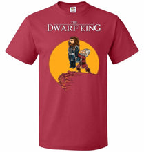 Load image into Gallery viewer, The Dwarf King Unisex T-Shirt - True Red / S - T-Shirt