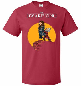 The Dwarf King Unisex T-Shirt - True Red / S - T-Shirt
