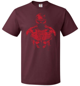 The Man Without Fear Unisex T-Shirt - Maroon / S - T-Shirt